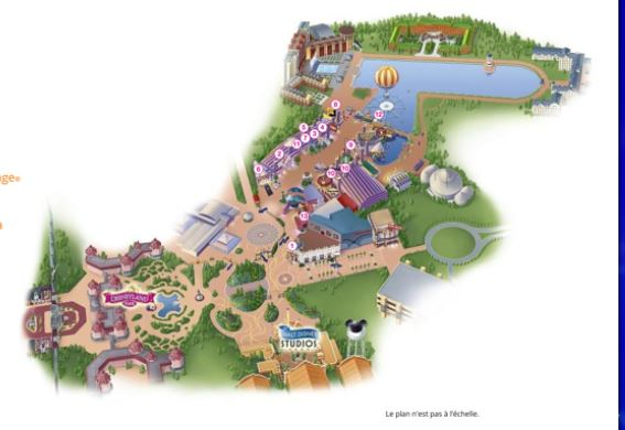 plan disney village